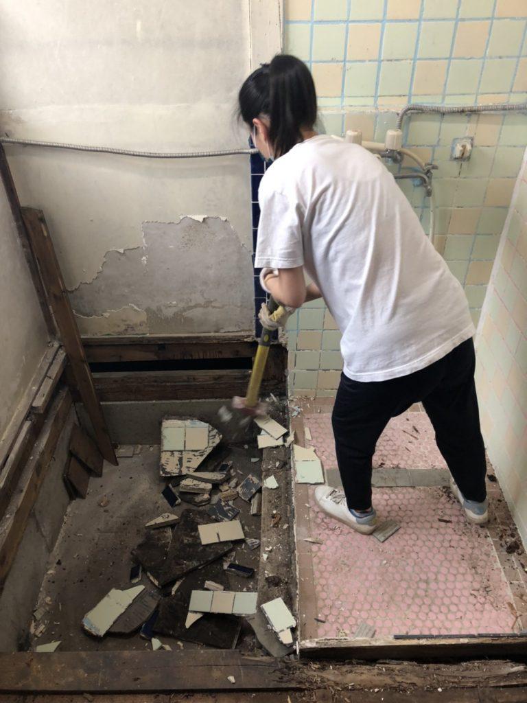 リノベーション床下DIY